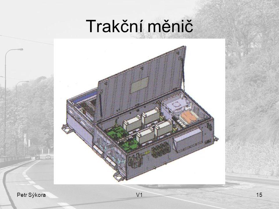 Trakční měnič Petr Sýkora V1