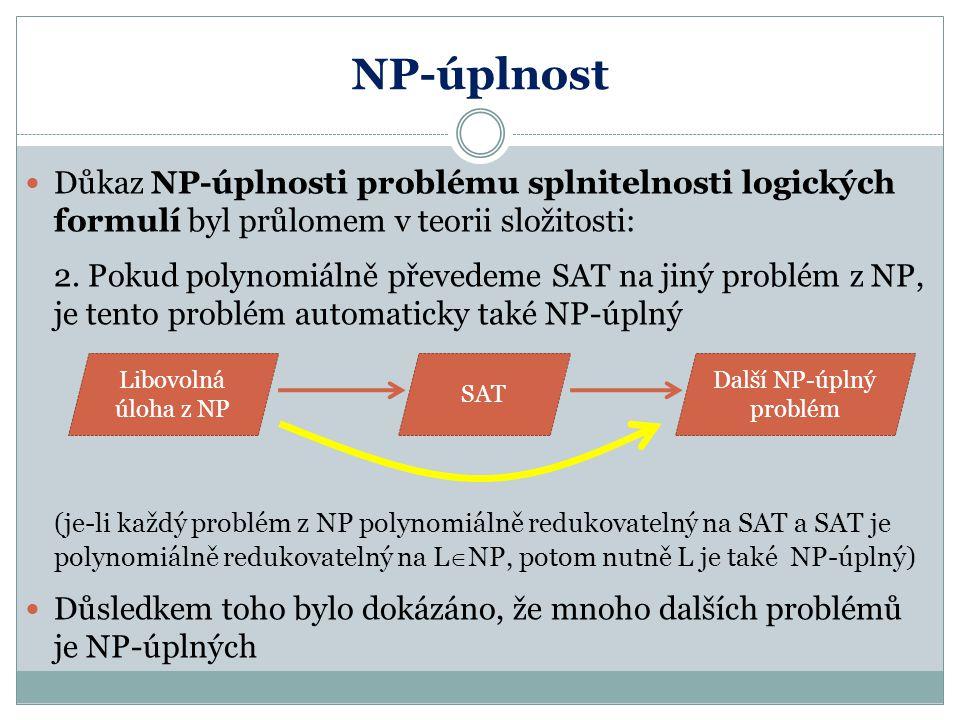 Další NP-úplný problém