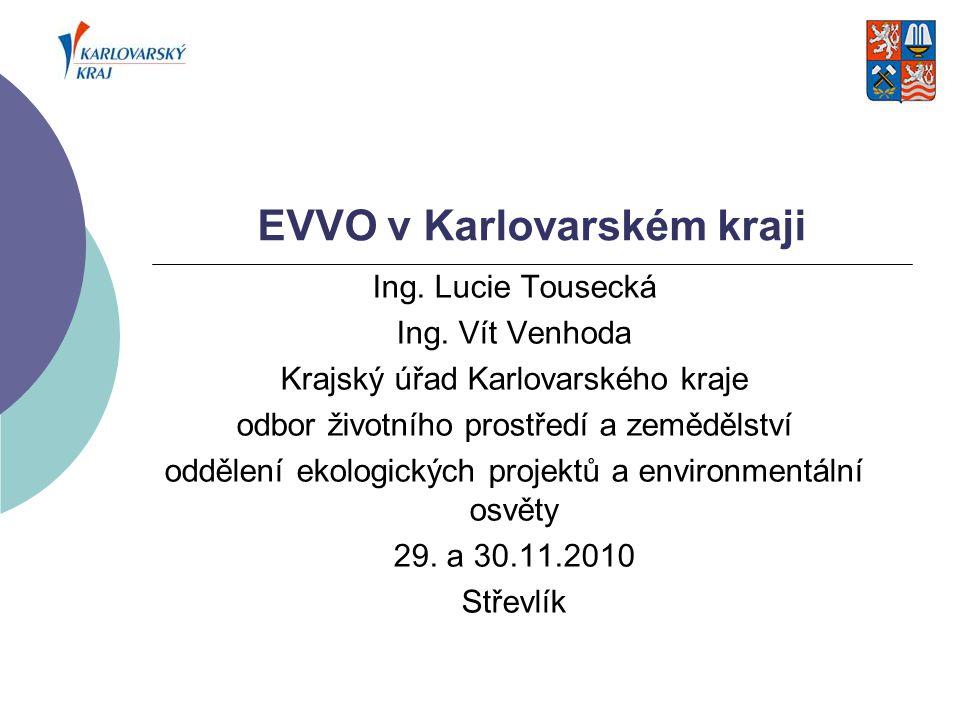 EVVO v Karlovarském kraji
