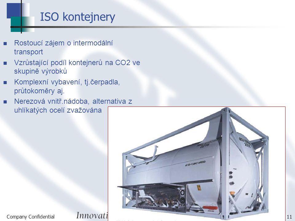 ISO kontejnery Rostoucí zájem o intermodální transport