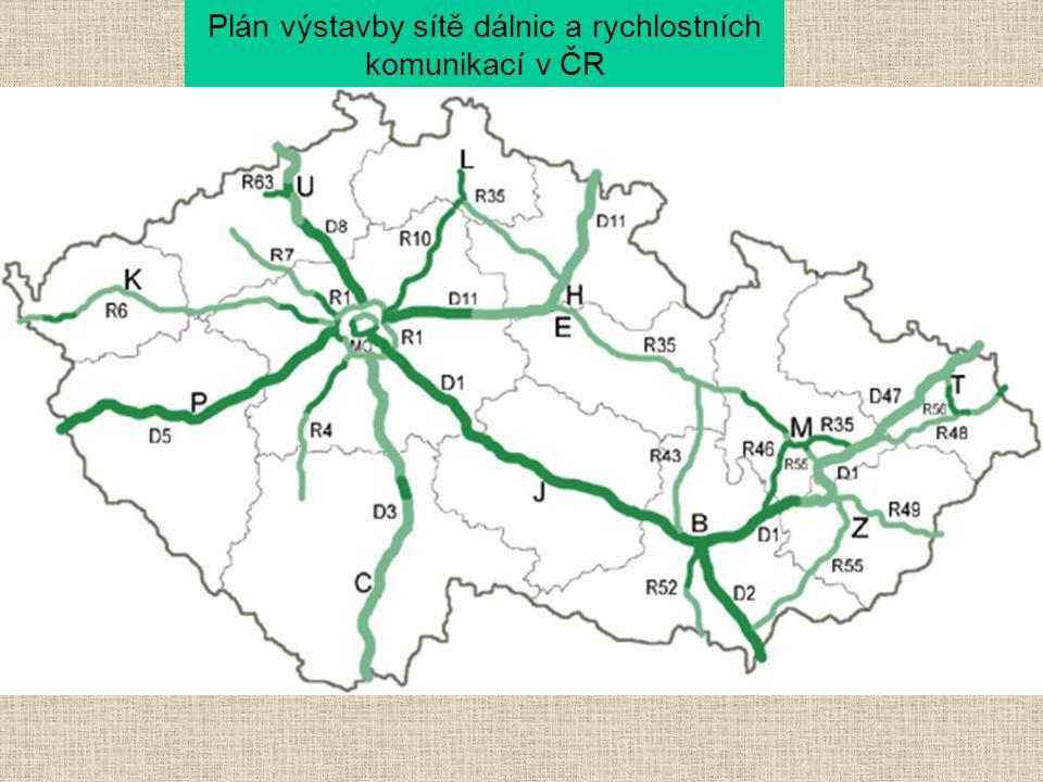 Plán výstavby sítě dálnic a rychlostních komunikací v ČR