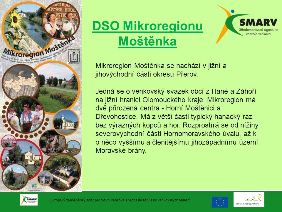 DSO Mikroregionu Moštěnka