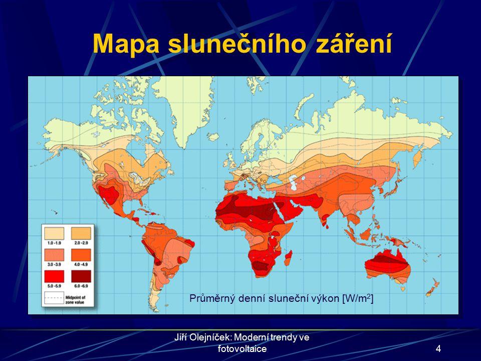 Mapa slunečního záření