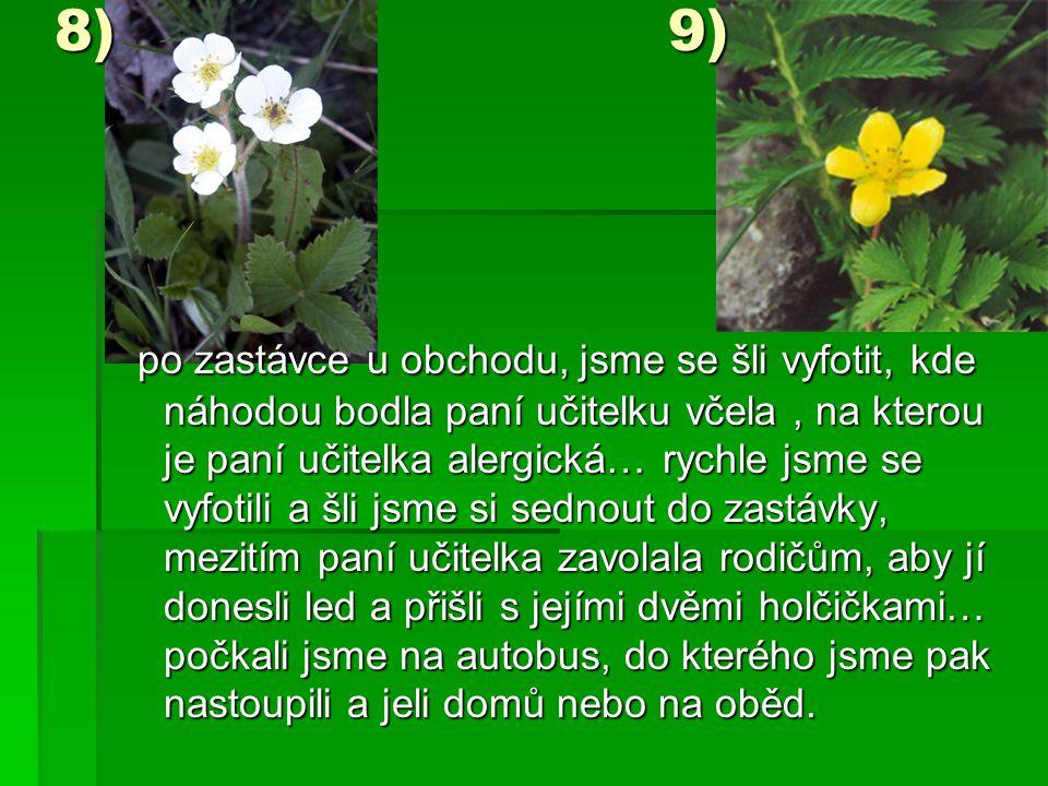 8) 9)