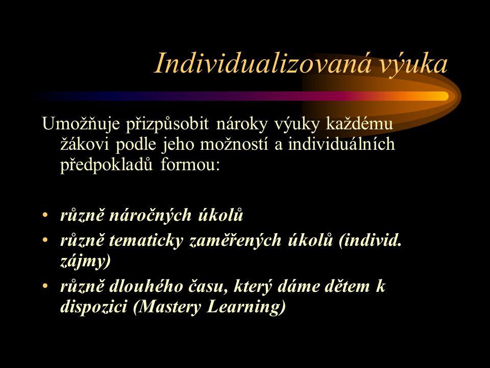 Individualizovaná výuka