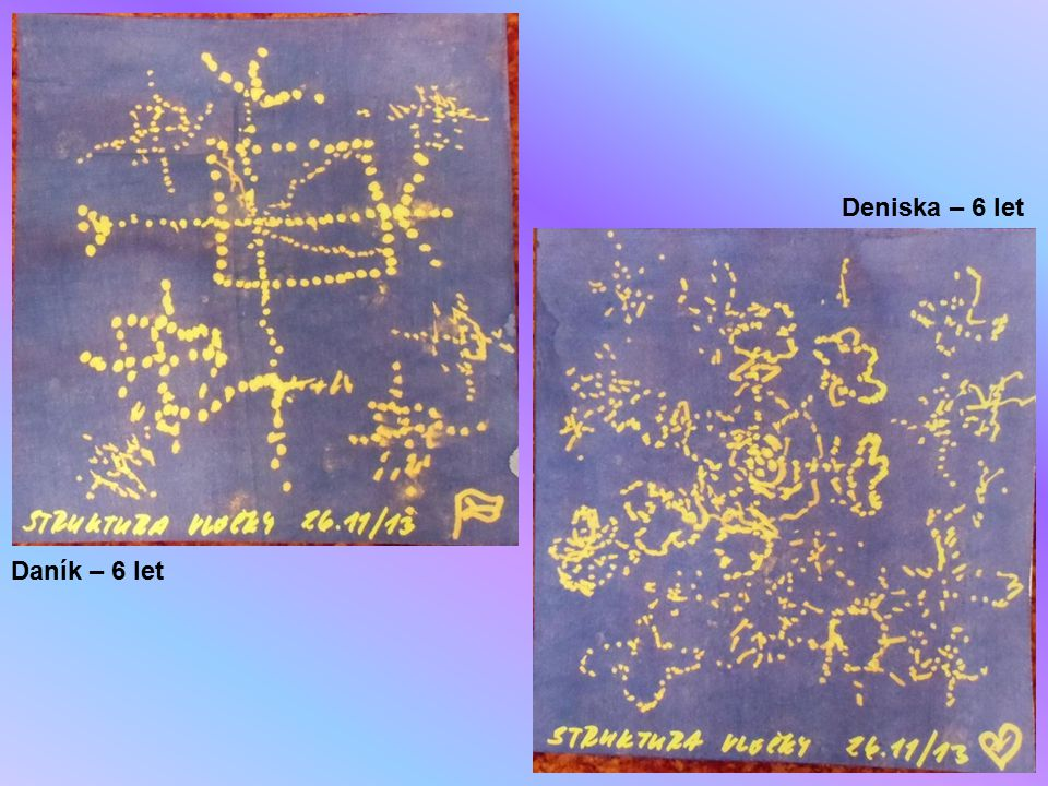 Deniska – 6 let Daník – 6 let