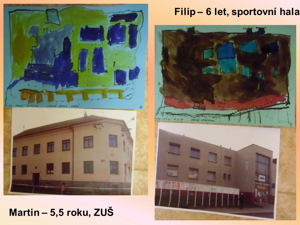 Filip – 6 let, sportovní hala