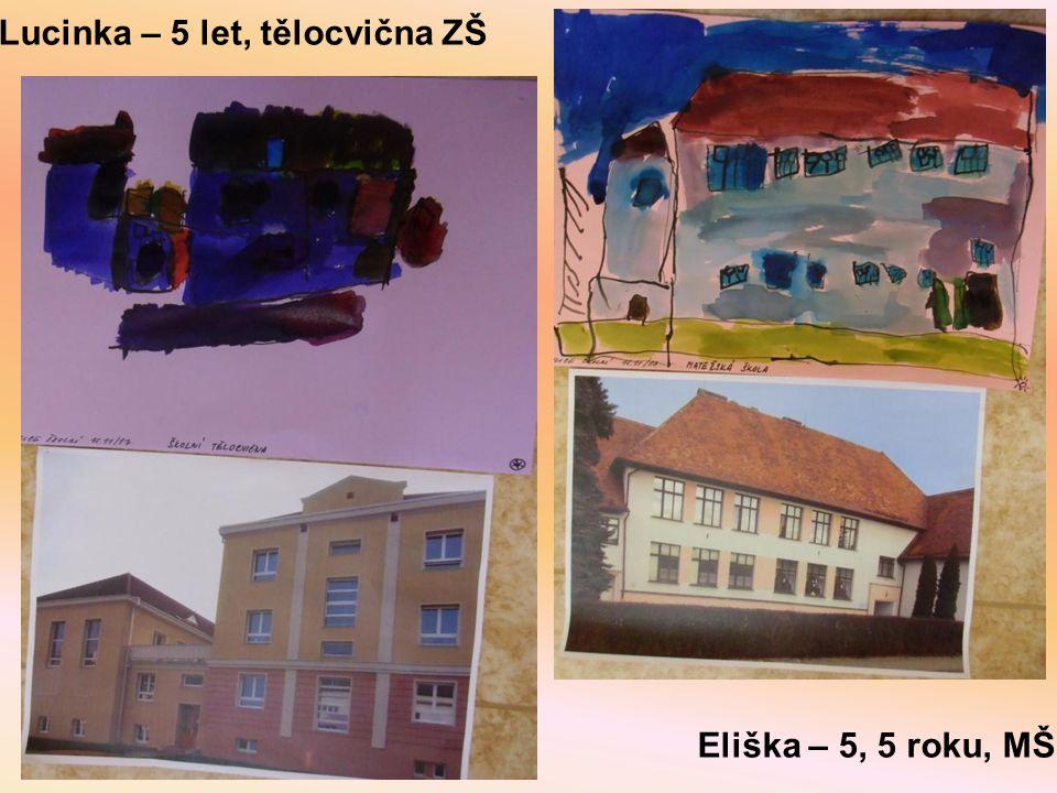 Lucinka – 5 let, tělocvična ZŠ
