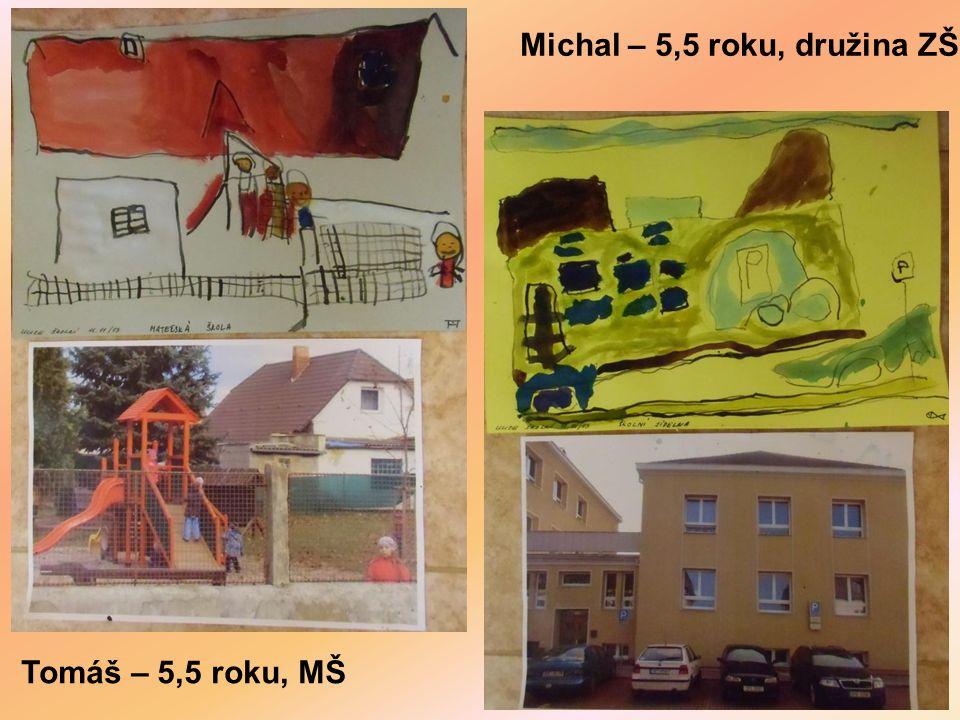Michal – 5,5 roku, družina ZŠ