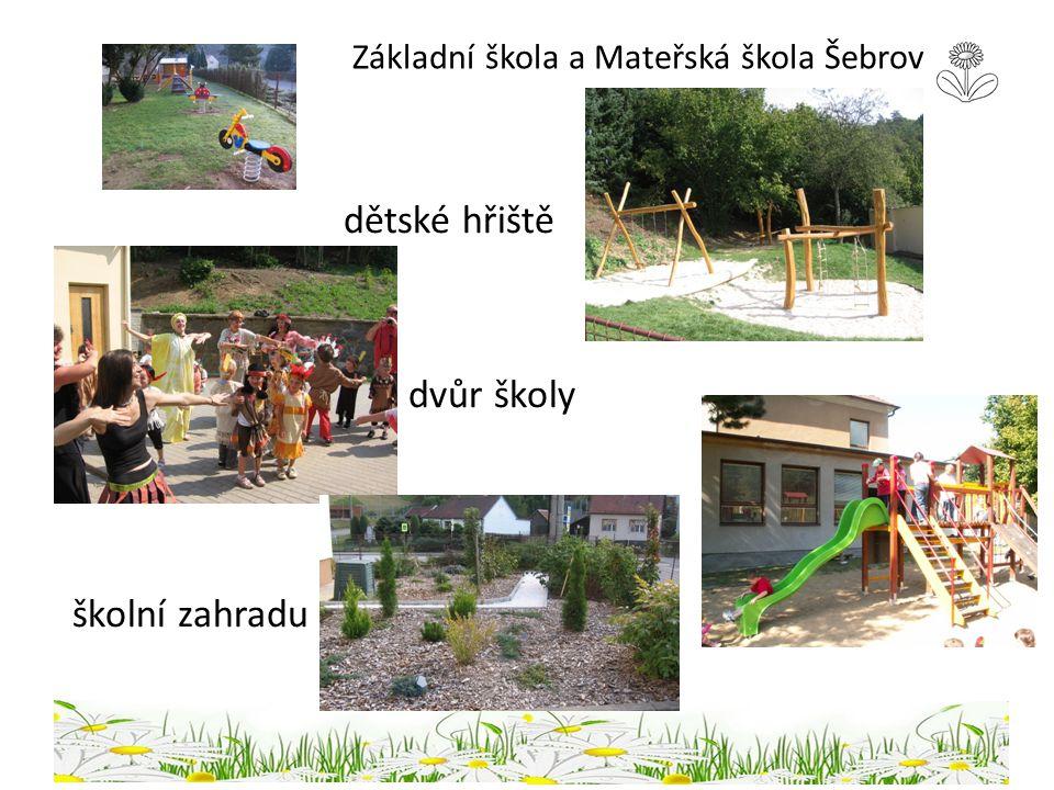 Základní škola a Mateřská škola Šebrov