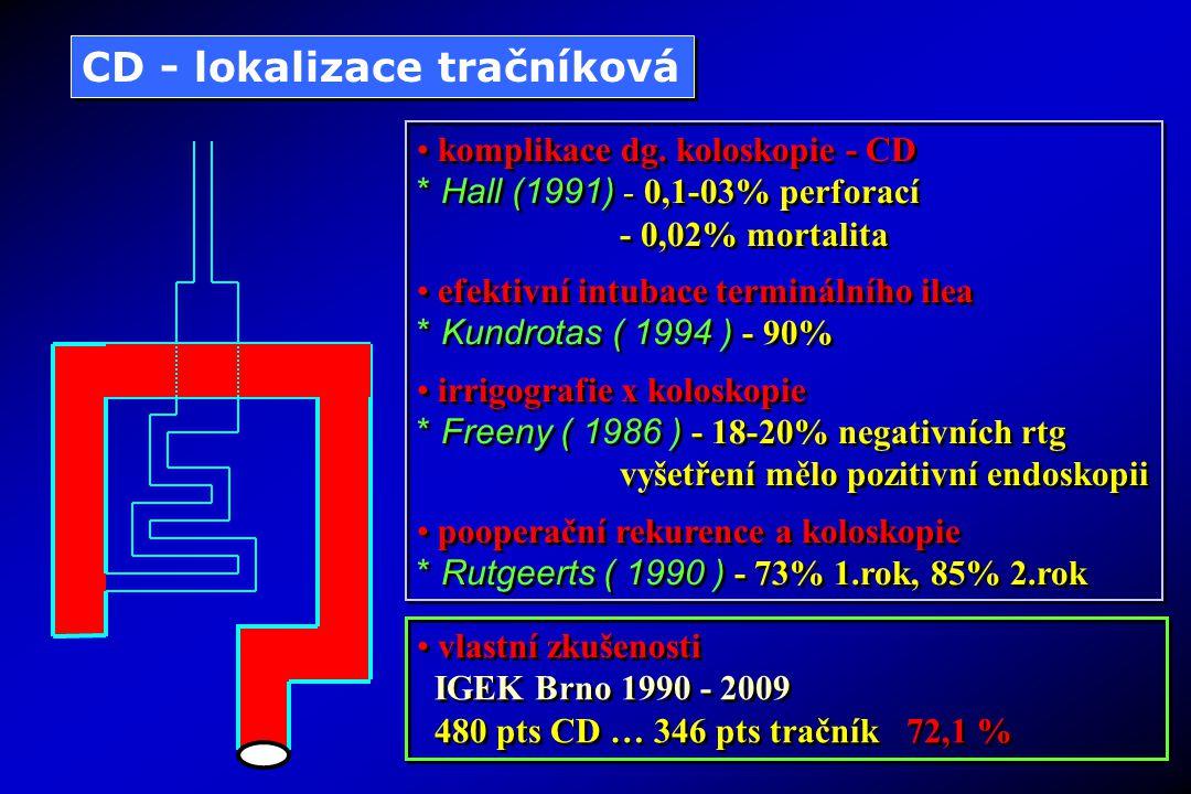 CD - lokalizace tračníková