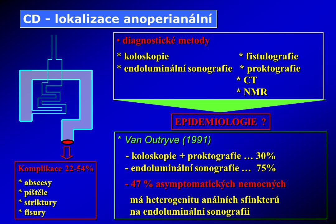 CD - lokalizace anoperianální