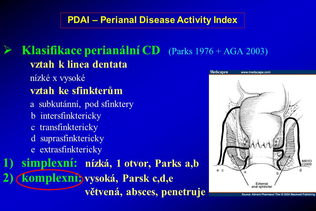 PDAI – Perianal Disease Activity Index