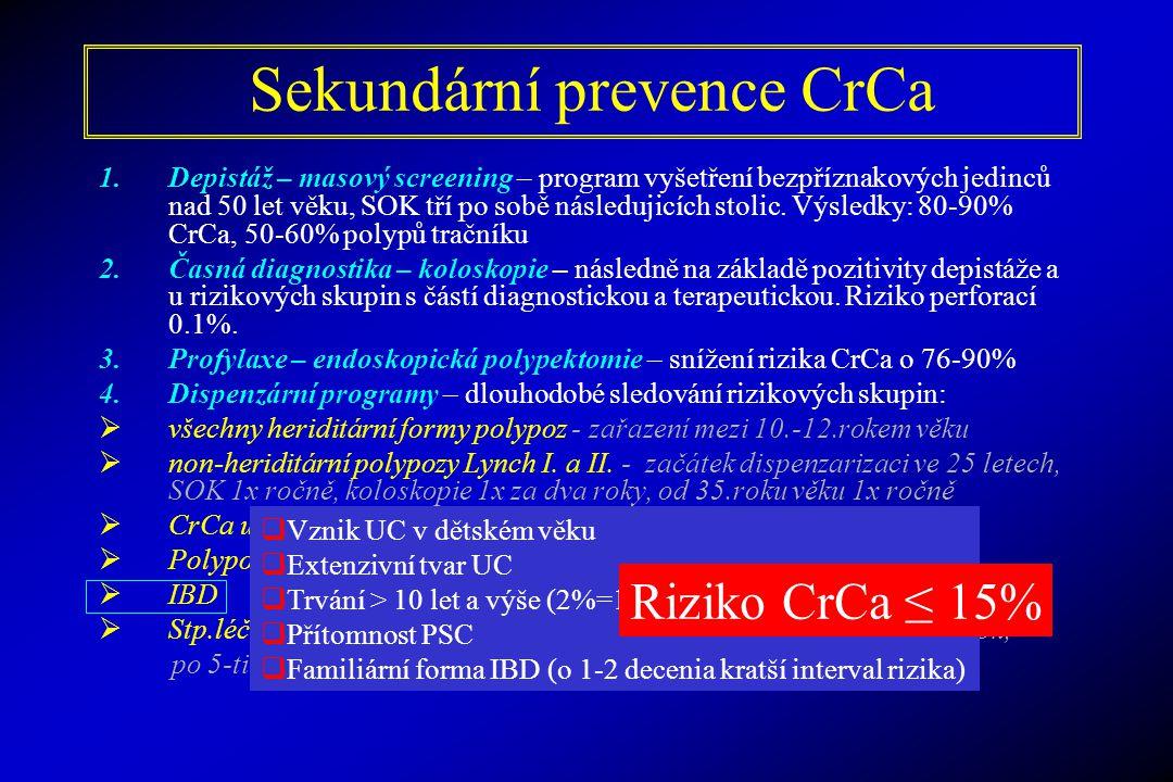 Sekundární prevence CrCa