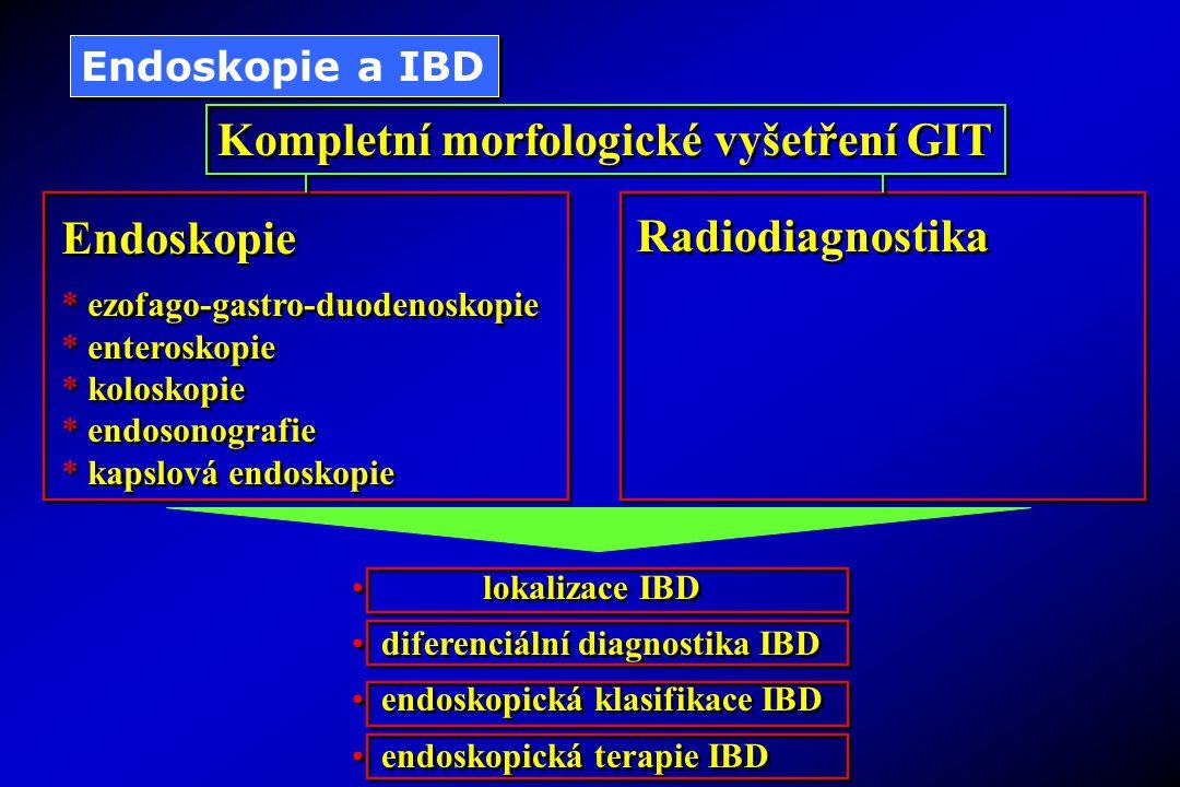 Kompletní morfologické vyšetření GIT