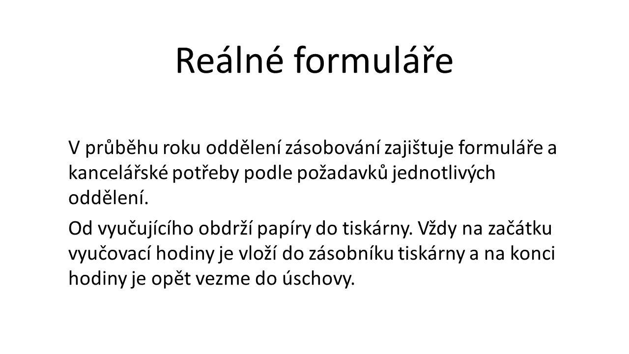 Reálné formuláře