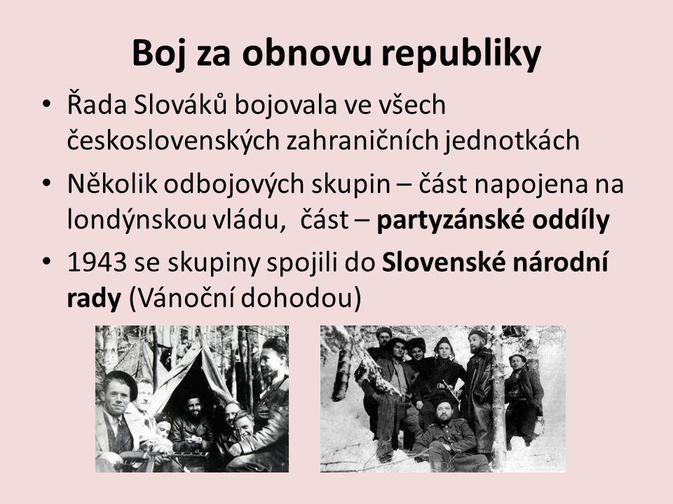 Boj za obnovu republiky