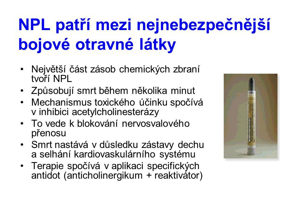 NPL patří mezi nejnebezpečnější bojové otravné látky