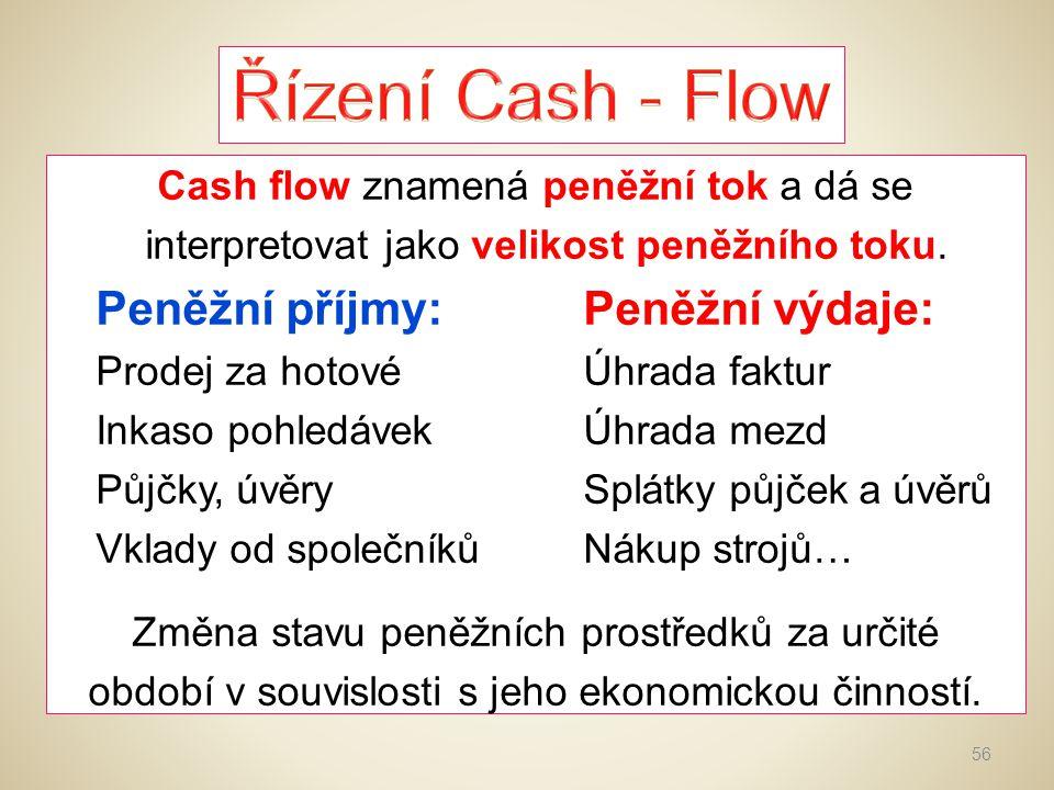 Řízení Cash - Flow