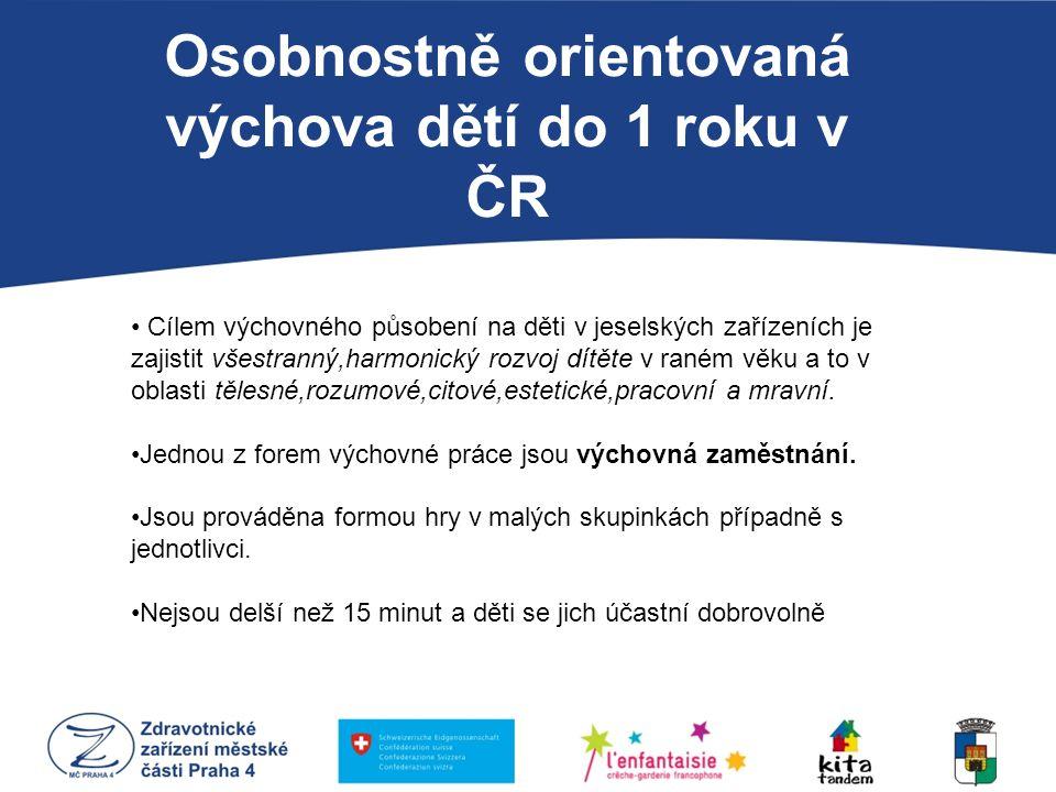 Osobnostně orientovaná výchova dětí do 1 roku v ČR