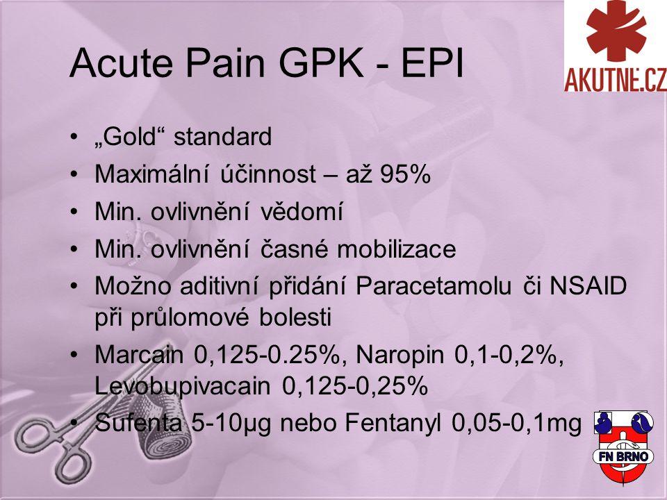 """Acute Pain GPK - EPI """"Gold standard Maximální účinnost – až 95%"""