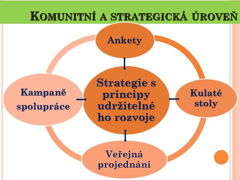 Komunitní a strategická úroveň
