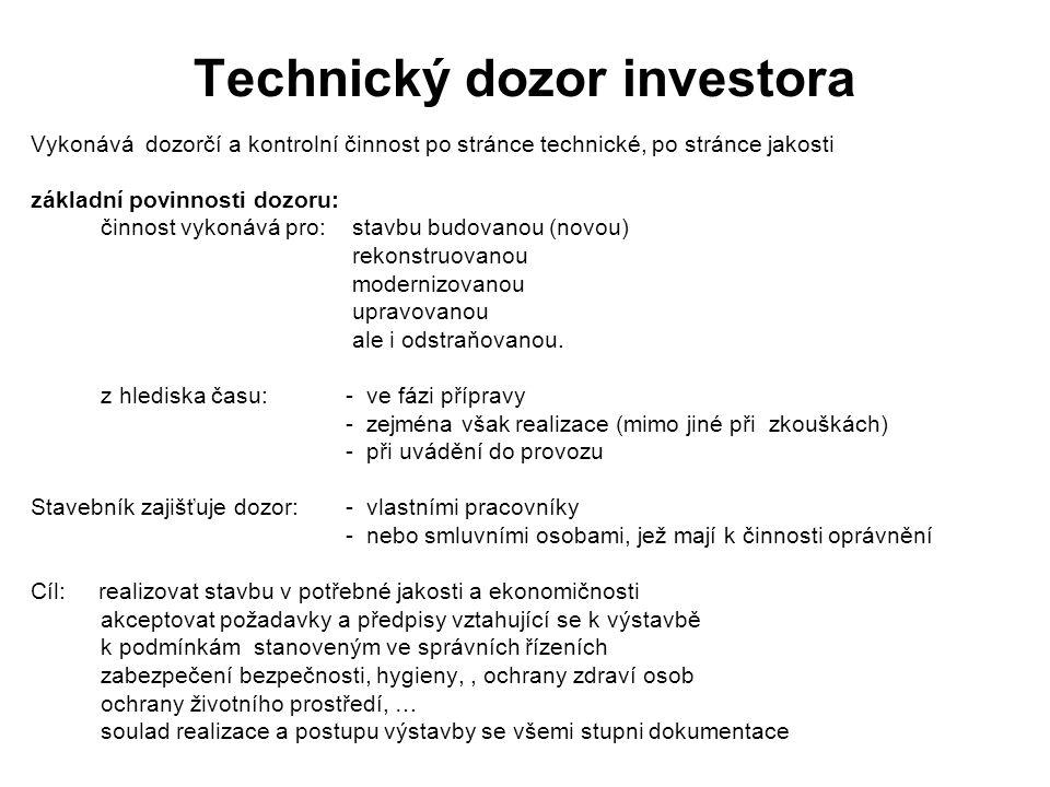 Technický dozor investora
