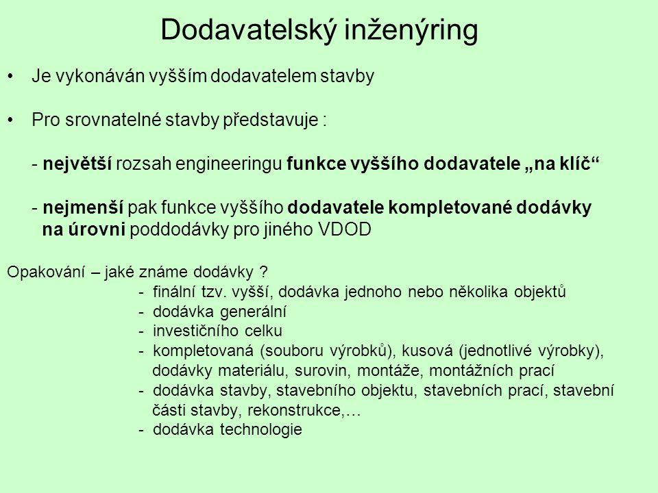 Dodavatelský inženýring