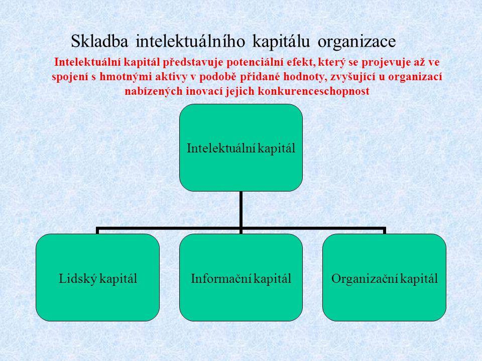 Skladba intelektuálního kapitálu organizace