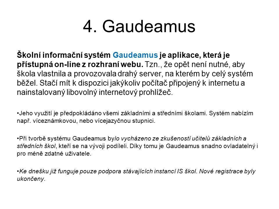 4. Gaudeamus