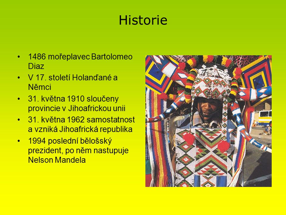 Historie 1486 mořeplavec Bartolomeo Diaz