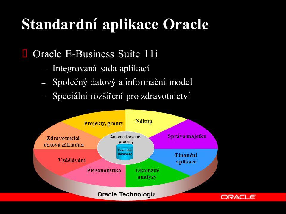 Standardní aplikace Oracle