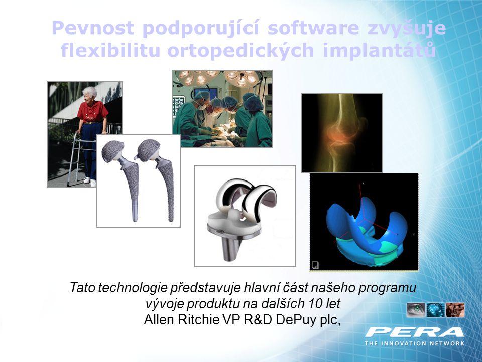 Allen Ritchie VP R&D DePuy plc,