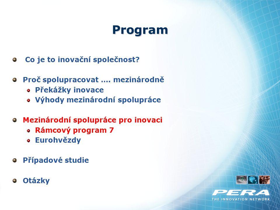 Program Co je to inovační společnost