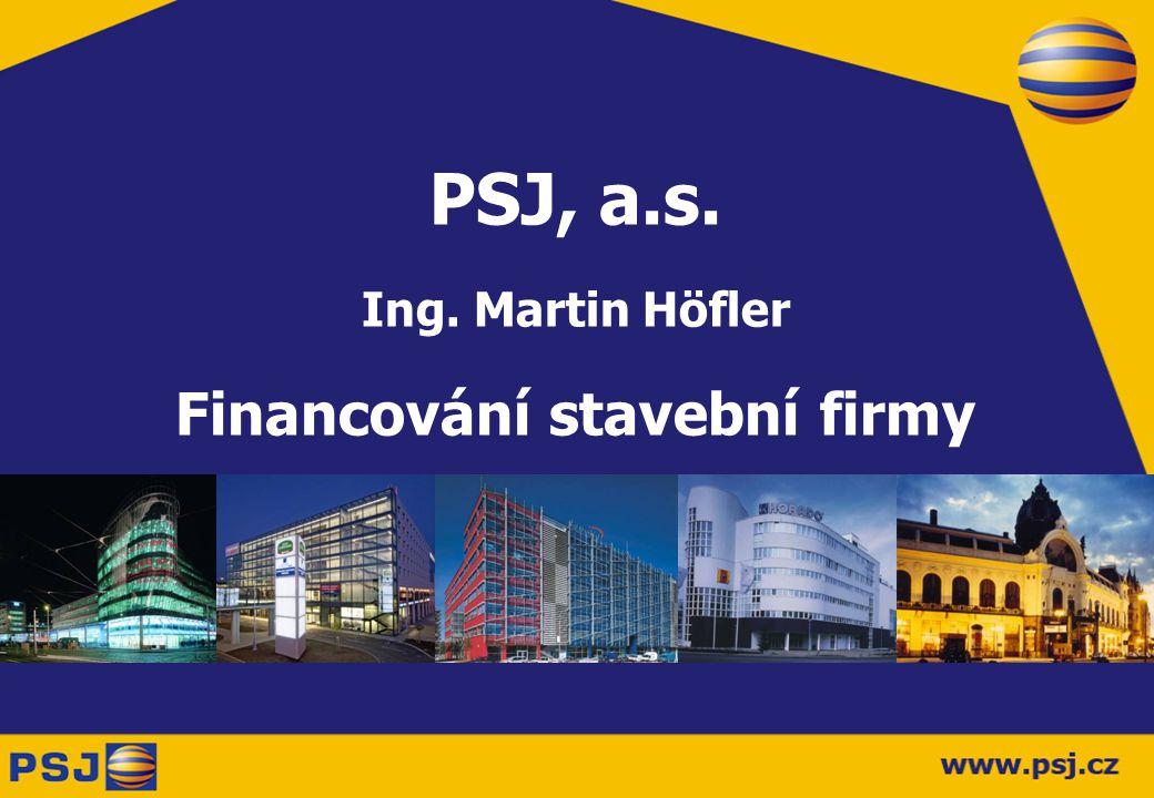 Financování stavební firmy