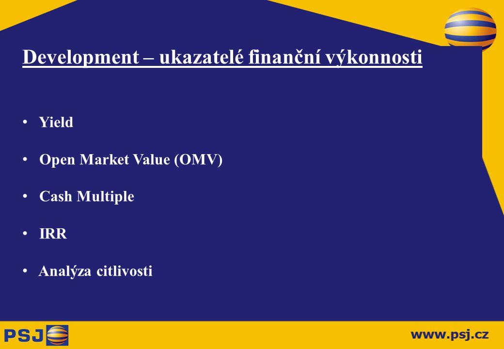 Development – ukazatelé finanční výkonnosti