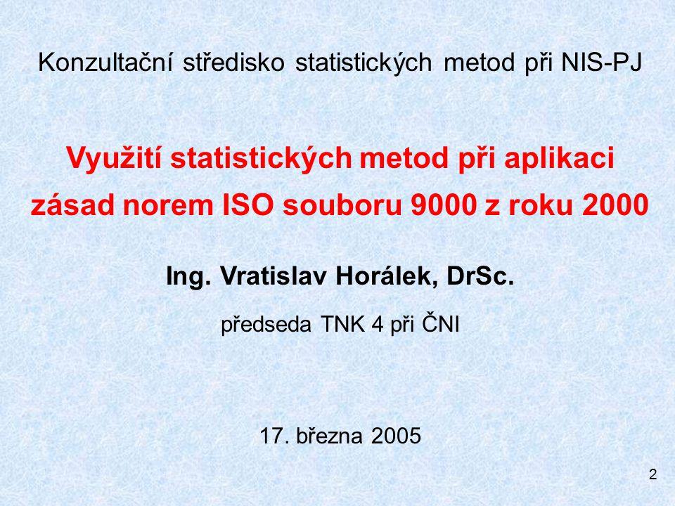 Konzultační středisko statistických metod při NIS-PJ