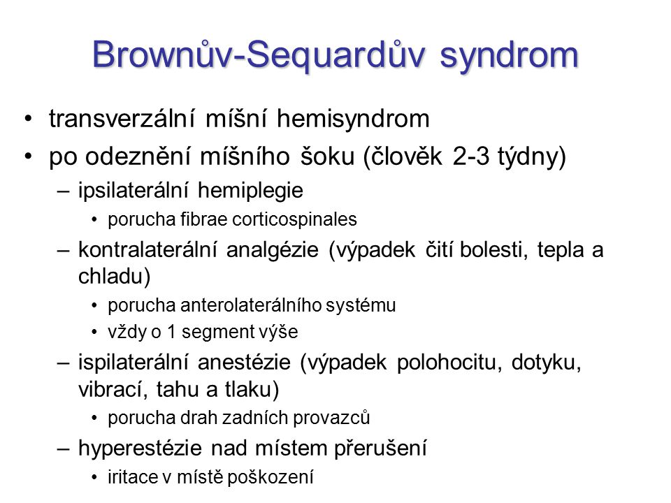 Brownův-Sequardův syndrom