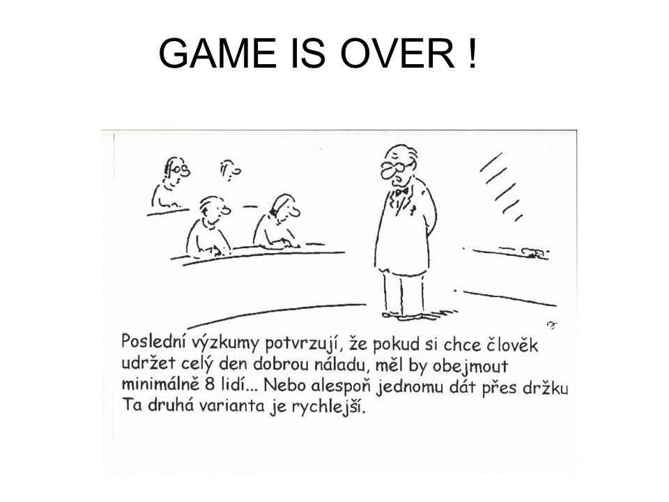 GAME IS OVER !