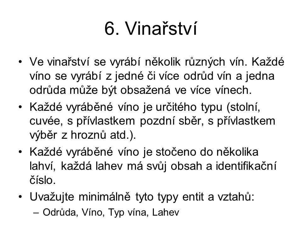 6. Vinařství