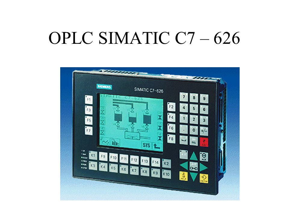 OPLC SIMATIC C7 – 626