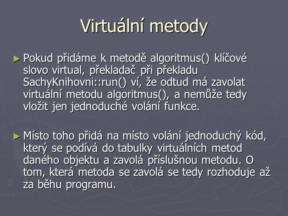 Virtuální metody