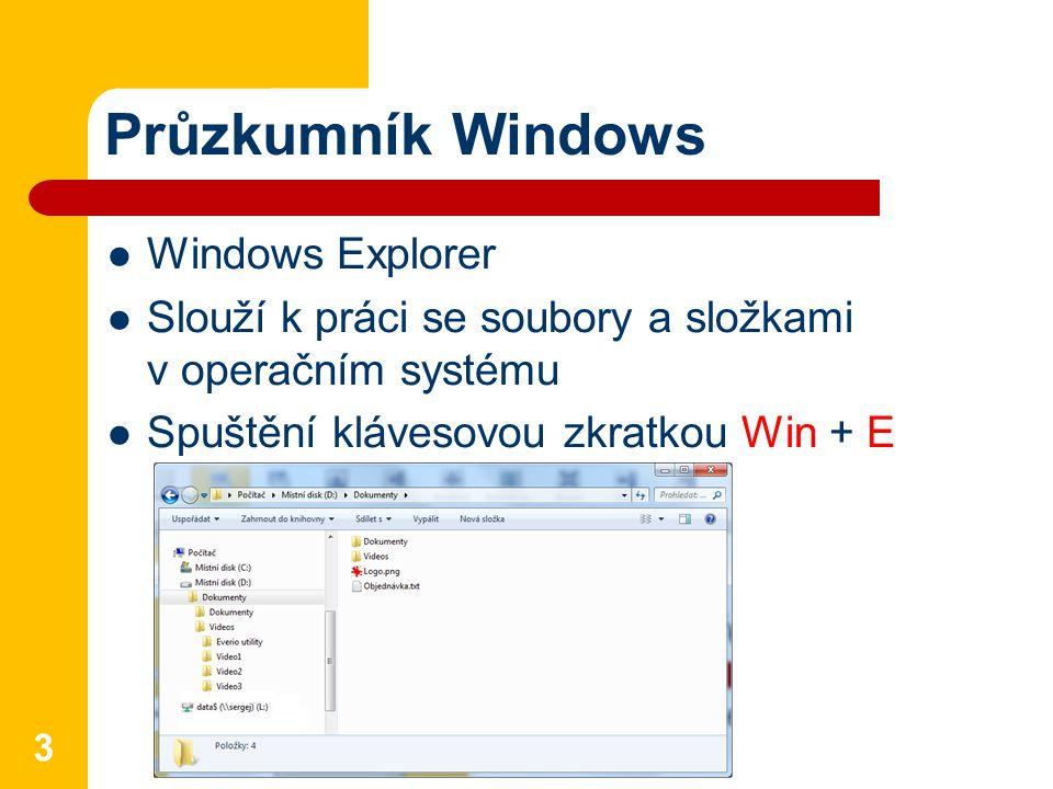 Průzkumník Windows Windows Explorer
