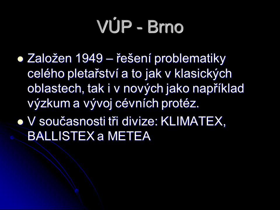 VÚP - Brno
