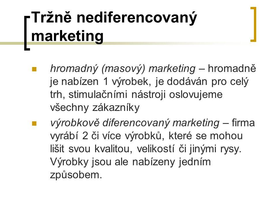 Tržně nediferencovaný marketing