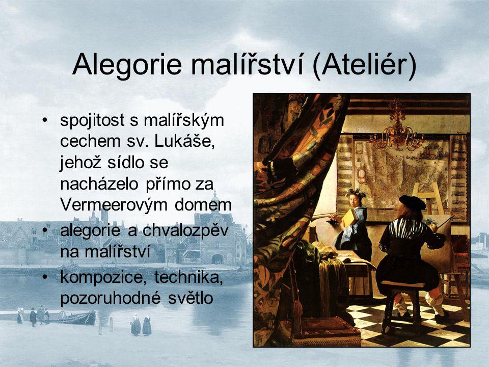 Alegorie malířství (Ateliér)