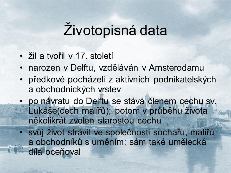 Životopisná data žil a tvořil v 17. století