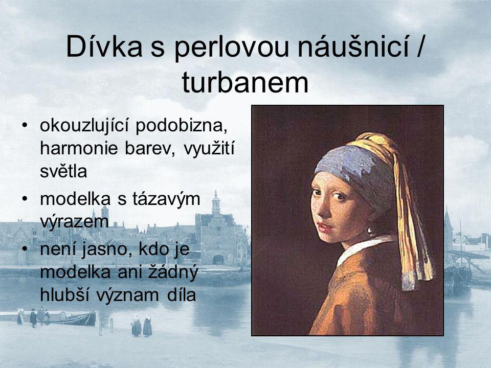 Dívka s perlovou náušnicí / turbanem