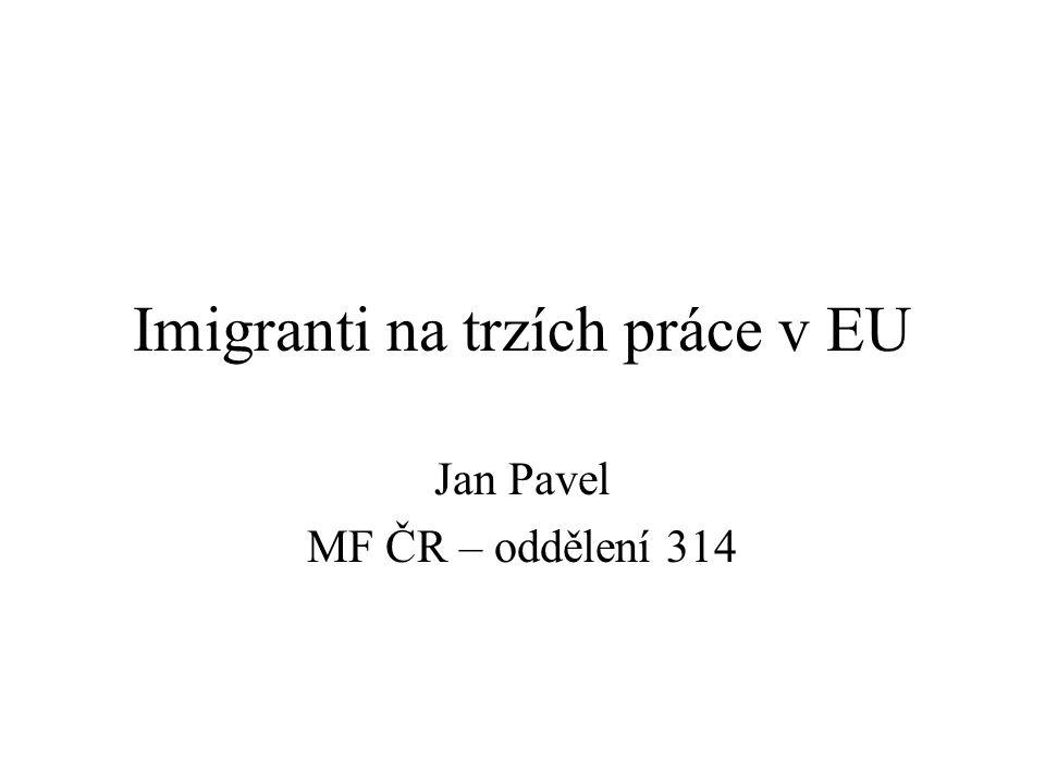 Imigranti na trzích práce v EU