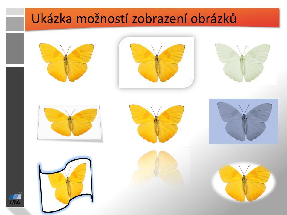 Ukázka možností zobrazení obrázků